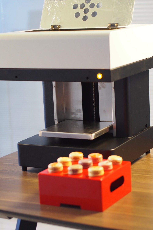 cake 3D edible Selfie printing machine for coffee milk selfie coffee printer Macaroon candy printing for sale