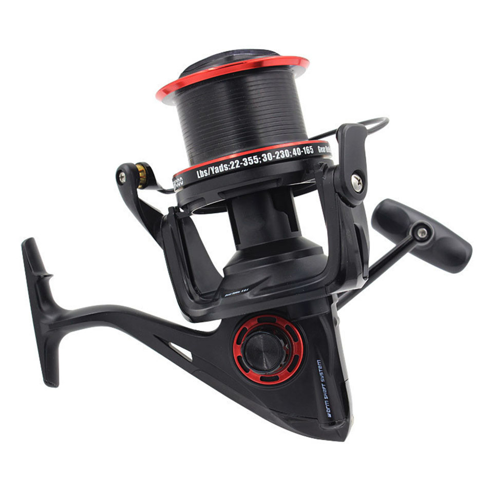 KCN10000 Distant Fishing Wheel 12+1 BB Gapless Gear Ratio 4.6:1 sea fishing reel Long Shot Reel Fishing Tackle sea fishing reel 12bb 1rb surfcasting fishing reel long distant wheel for saltwater 8000 9000 series drag 24kg 52lb fishing reel