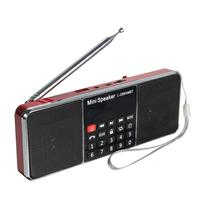 LCD Bluetooth FM/AM Radio Portable Stereo Speaker MP3 Music Player Micro for SD USB Dual Loudspeakers
