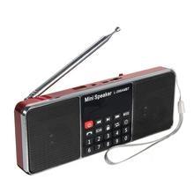 LCD bluetooth FM/AM radyo taşınabilir Stereo hoparlör MP3 müzik çalar Micro SD USB çift hoparlörler
