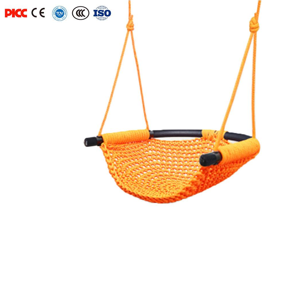 Children's Toy Rope Net Indoor And Outdoor Family Baby Hanging Chair Swing Infant Outdoor Hanging Chair Child Toy Swing outdoor toy children kindergarten baby canvas swing hanging chair wooden indoor small swinging basket rocking chair with cushion