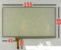 6,5 дюймов 155*89 мм сенсорный экран автомобильный dvd at065tn14 pw065xs1 lcd 6,2 почерк экран