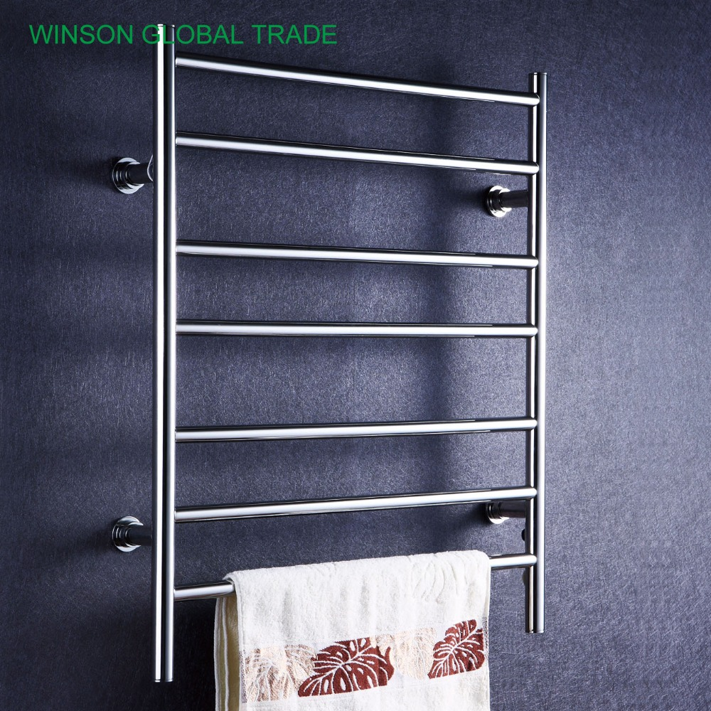 Big Size Stainless Towel Warmer Heated Towel Rack: ICD50016 304 Stainless Steel Heated Towel Rail, Banheiro