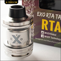 100% Original IJOY EXO RTA Tank 2ml Top fill EXO RTA Atomizer extend 6ml e-juice capacity Interchangeable T1S T2S deck vaporizer