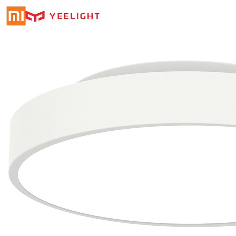Original Xiaomi Yeelight Smart LED White Ceiling Light Smart APP control in stock original xiaomi yeelight smart ceiling light lamp remote app wifi bluetooth control smart led colorfull ip60 dustproof