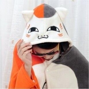 Maestro gato gente de la casa chal, Totoro GISMO/amigos Natsume cuenta capa de dibujos animados de coral polar manta de aire acondicionado