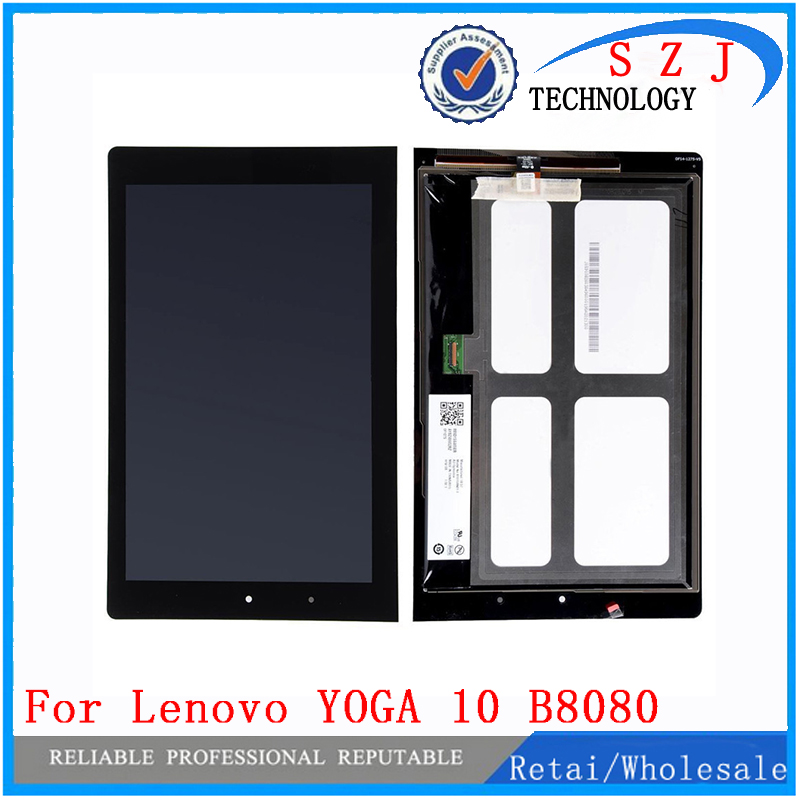 New 10 inch case for Digitizer + LCD b101uan01.E montaje para for Lenovo YOGA 10 B8080 HD + LCD Display Digitizer Free shipping new 10 1 inch case for lenovo yoga 10 b8080 b8080 f b8080 h full lcd display touch screen panel digitizer assembly with frame
