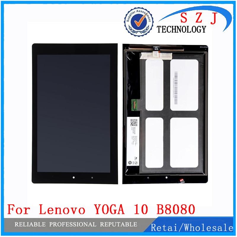 New 10 inch case for Digitizer + LCD b101uan01.E montaje para for Lenovo YOGA 10 B8080 HD + LCD Display Digitizer Free shipping new fan e i5 aluminum htpc computer case e350 h61 hd perfect match i3 i7 e i5