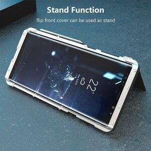 Image 3 - Étui pour Samsung Galaxy Note 9 10 en acier inoxydable Armor King coque antichoc pour Samsung Note9 S10 5G en métal de luxe