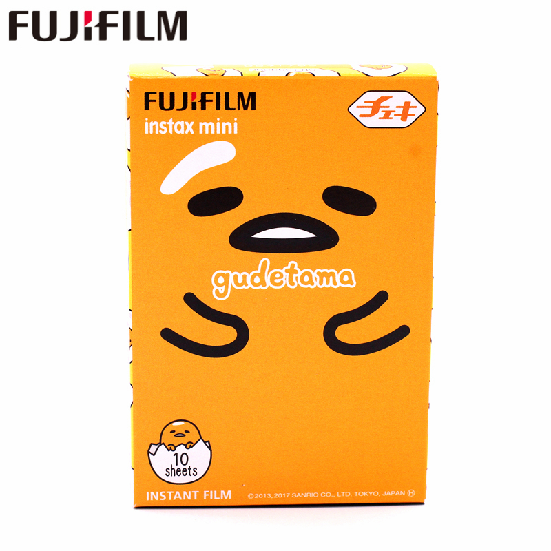 Collectie Hier 2017 Nieuwe Fujifilm Instax Mini 8 9 Film Gudetama 10 Vellen Photo Papier Voor Fuji Instant Mini8 9 7 S 25 50 S 70 90 Camera