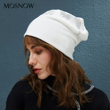 Mulheres Gorros de inverno Chapéu de Veludo Com Strass Stretchy Knit  Chapéus Das Senhoras do Outono 8b04f41845b