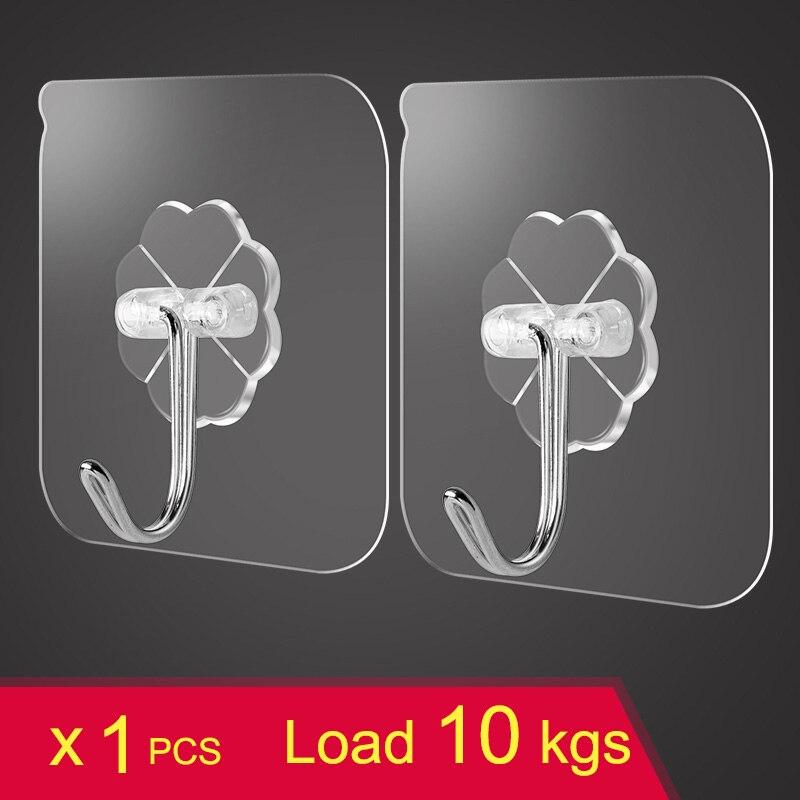 Прозрачные крепкие крючки на присоске для дома, кухни и ванной комнаты, присоски, вешалка, держатель для ключей, вешалки для хранения