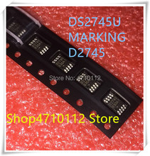 NEW 10PCS/LOT DS2745U+ DS2745U DS2745 MARKING D2745 MSOP-8 IC