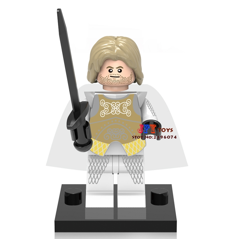 Single Sale star wars super hero Game of Thrones TV Jaime Lennister building blocks bricks toys for children brinquedos menino