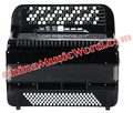 Afanti Music 77 keys 120 Bass Accordion  (AJMSF-03)