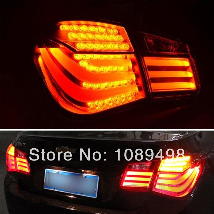 1 комплект/4 шт Мода стиль изменен LED задний фонарь замена заднего фонаря для Шевроле Cruze 2009-2013