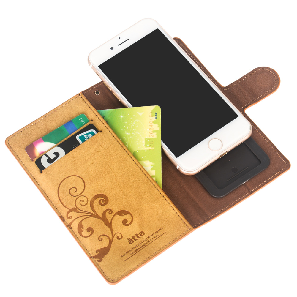 For iPhone 6 6S 7 8 X Xs Case Paste Slide Leather Flip Phone Cases With Strap Magnetic Cards Holder Retro Wallet Coque Phone Bag slide wallet