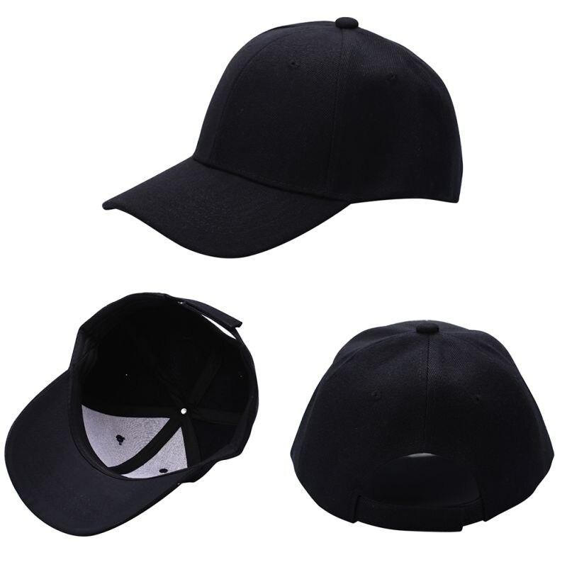 Oioninos 2017 Fashion Men Women Plain Baseball Cap Unisex Curved Visor Hat  Hip Hop Adjustable Peaked Hat Visor Caps-in Baseball Caps from Men s  Clothing ... ac34e6f20ec