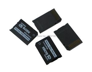 Image 3 - ChengChengDianWan Yüksek Kaliteli Mini Mikro SD SDHC TF Memory Stick MS Pro Duo Adaptörü Dönüştürücü Kartı psp 1000 için 2000 3000