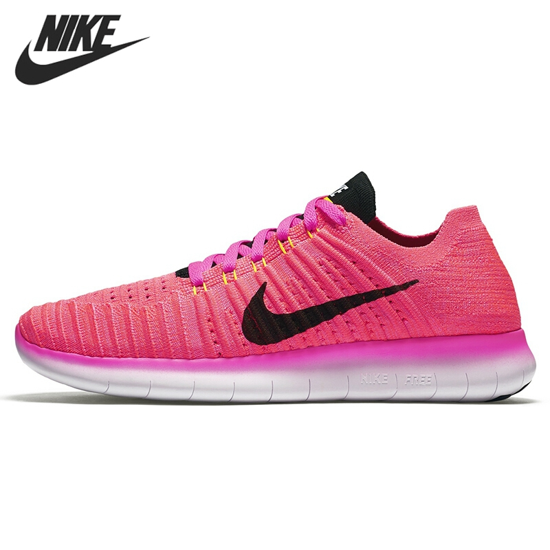 Original WMNS NIKE FREE RN FLYKNIT  Women's  Running Shoes Sneakers k1x wmns майка k1x wmns basic tag wifey