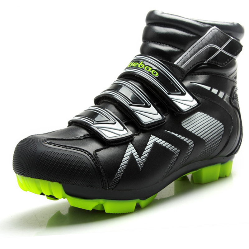 Tiebao High Ankle Racing Cycling boots Outdoor Athletic Racing MTB Cycling <font><b>Shoes</b></font> SelfLock Bike <font><b>Shoes</b></font> SPD Cleated Bicycle