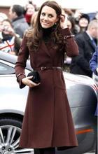 New Kate Middleton Princess wool Coat Fashion Warm Coat