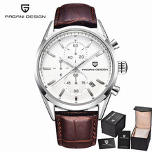 PAGANI DESIGN Classic Men's Watches New Fashion Casual Leather Strap And Stainless Steel Bracelet quartz watch relogio masculino