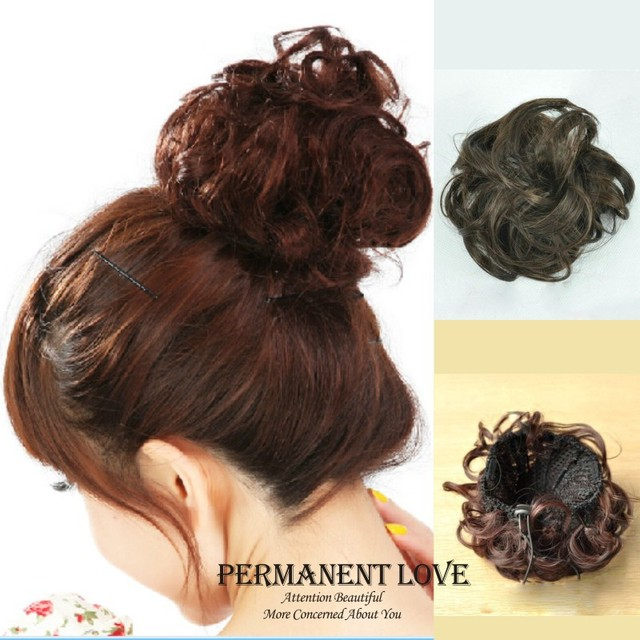 synthetic Hair chignon tail hairpieces hair
