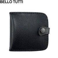 BELLO Тутти из натуральной свиной кожи Кошелек для монет Винтаж Дизайн индивидуации Малый Женский кожаный бумажник для мужчин женщин