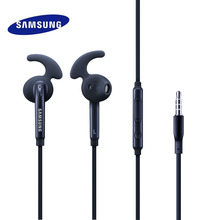лучшая цена Samsung Earphone In Ear For Galaxy S7 S7edge S8 S9 S9PLUS Music Earphones Smart Mobile Phone Wired Sport Earbuds With Microphone