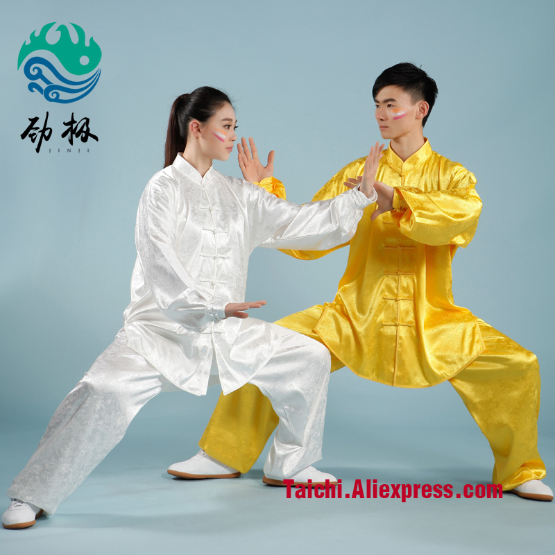 Dragon Design Tai Chi Clothing Wushu Clothes Taijiquan Practice Costumes Martial Arts Suit arts clothing embroidery short sleeved clothes adult children dragon costumes taijiquan spring and summer clothing