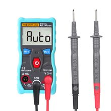 Automatic Digital Multimeter Tester 4000 Counts True-RMS Intelligent NCV AC/DC Voltage Current Ohm Test Tool with Backlight opp 4000 lift tool service elevator test tool opp 4000