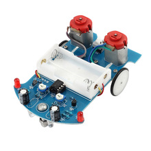 Hot Selling Intelligent Tracking Smart Car Robot DIY Chassis Starter Kit with DC