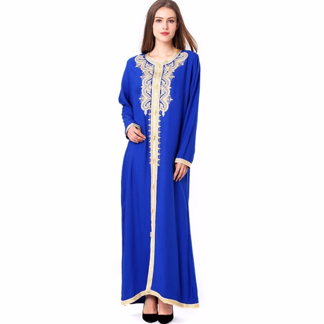 embroidery moroccan Kaftan Islamic clothing Muslim dress | online brands