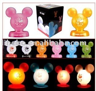 Little Mouse cartoon lamp / ARTL Lamp, 10pcs/lot, free shipping,new practical energy-saving patented electronic products;