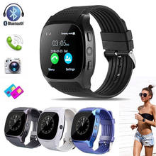 Avec 0.3MP caméra Bluetooth montre intelligente Support SIM TF carte LBS localisation Smartwatch sport montre-bracelet pour Android(China)