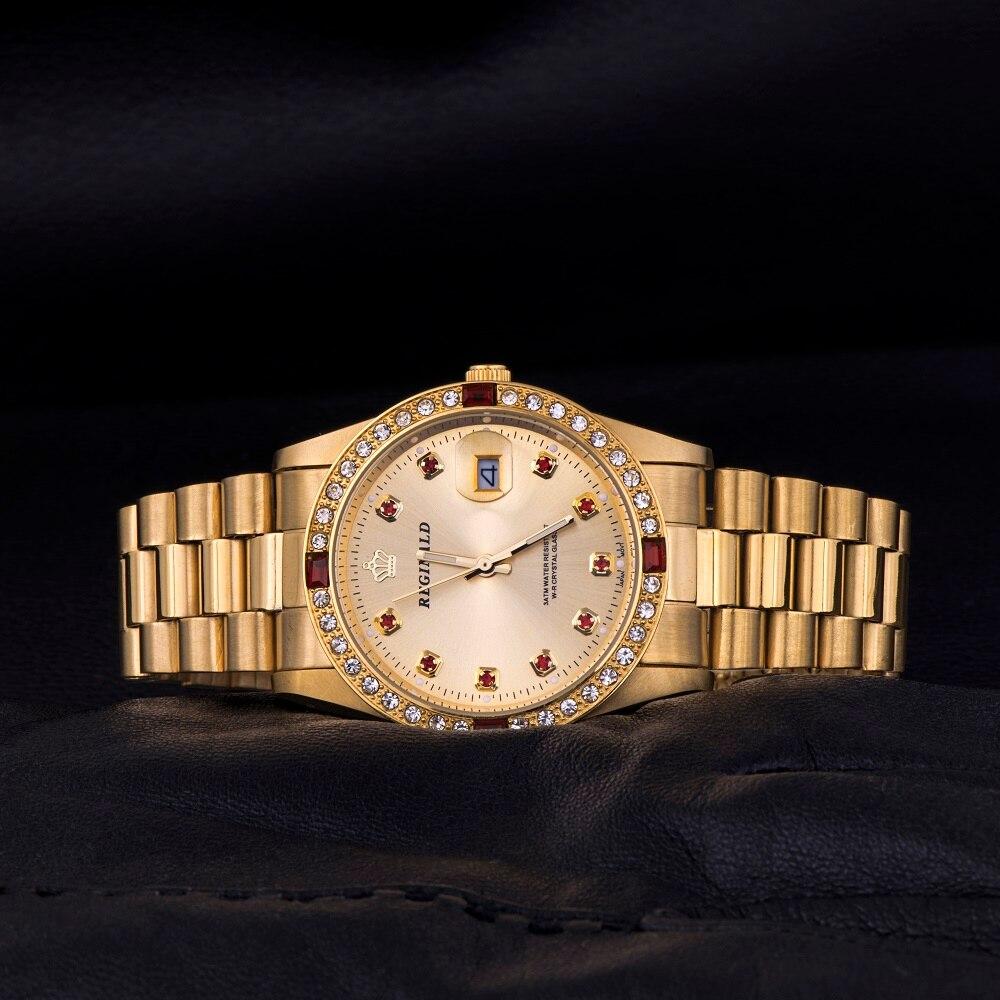 Kwaliteit REGINALD Merk Horloges Dames Top Luxe Vol Staal Diamanten - Dameshorloges - Foto 2