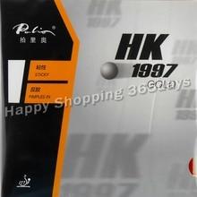 Palio HK1997 GOLD(липкий) Pips-in настольный теннис(пинг-понг) Резина с губкой(H48-50