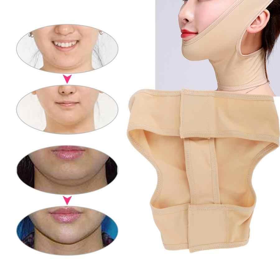 Facial Massager 3 Ukuran Unisex Masker Perban Tipis V Bentuk Wajah Mengangkat Sabuk Wajah Band Face Lift
