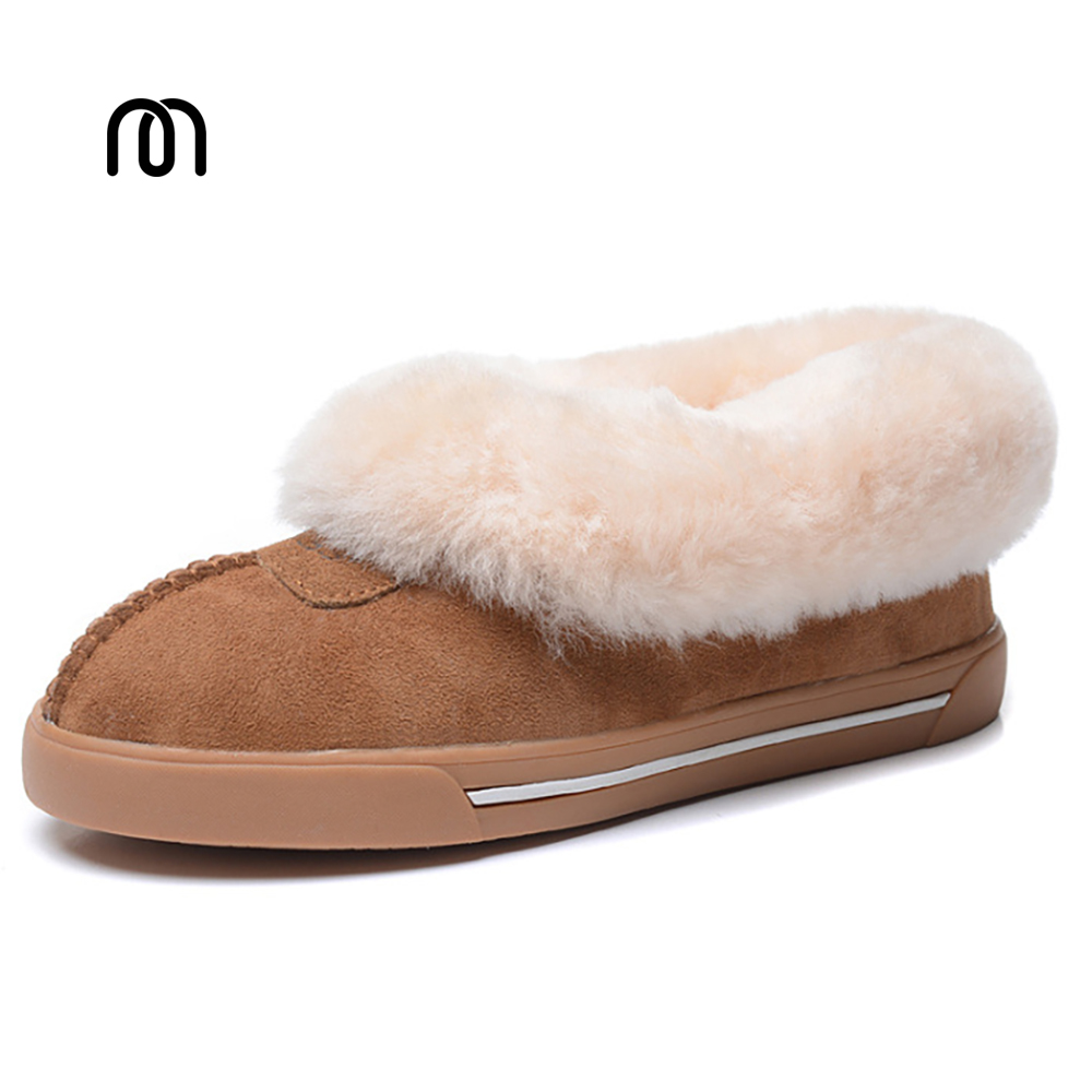 2017 New Top Quality Women Fashion Snow Boots Genuine Sheepskin Women Boots Warm Wool Winter Shoes Fur Ankle Boots lady shoes camel winter women boots 2015 new shoes retro elegance sheepskin fashion casual ladies boots warm women s boots a53827612