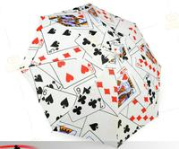 Newest Magic Card Styles Umbrella Trick Prop 30cm 160g Professional Stage Color Card Poker Monte Trick