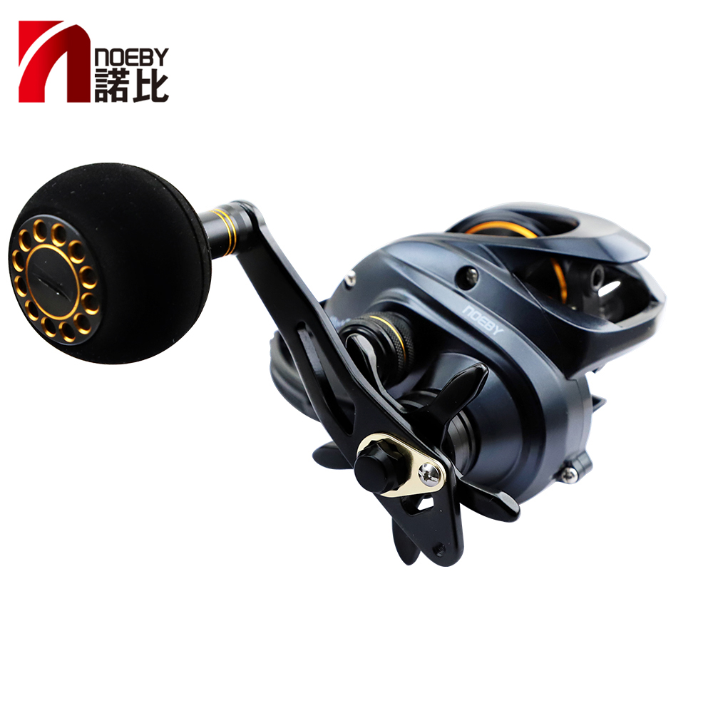 US $67 71 40% OFF|NOEBY Fishing Reels NONSUCH DC1200 High Speed Baitcasting  Reel Gear Ratio 6 3:1 11BB Bait Casting Wheel Max Power 12kg Pesca-in