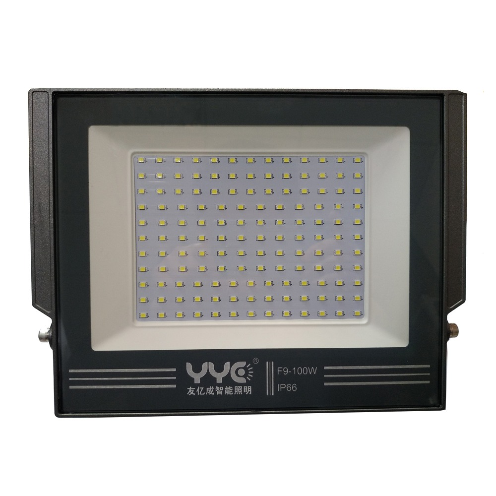 Led Spotlight 2018 Special Offer Real Ccc Led Floodlight Flood Light 100w Exterior Spotlight Outdoor Reflector Spot