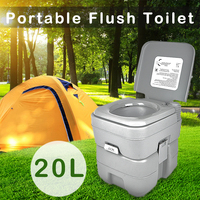 Portable 20L Camping Toilet Potty Restroom Travel Outdoor Tool For Camping Hiking
