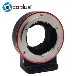 Mcoplus EC-SNF-E(S) Auto focus electronic adapter ring for Nikon F-mount Lens transfer to Sony E-mount Camera
