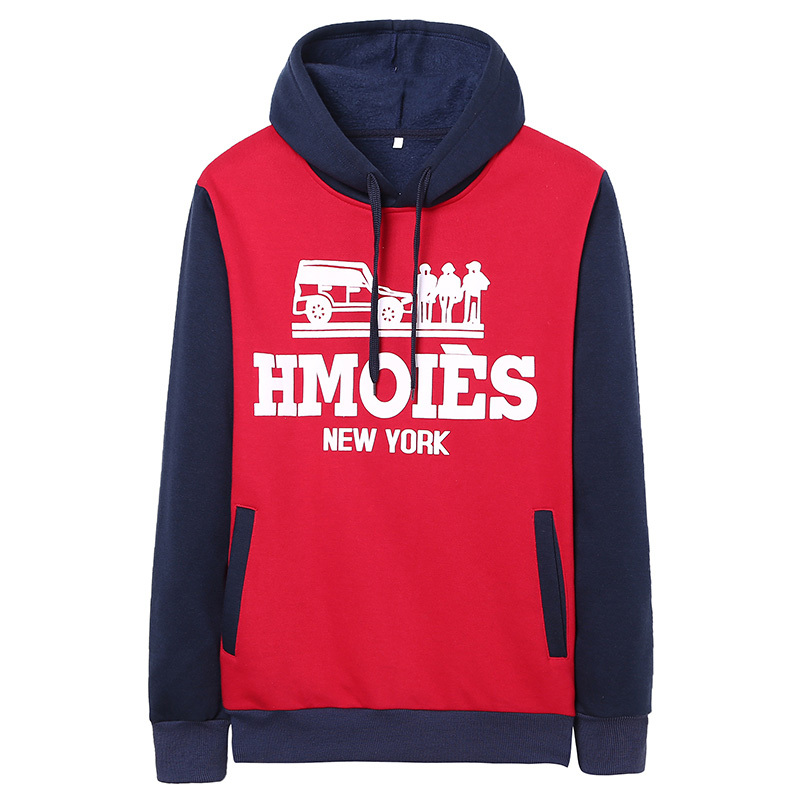 2014 autumn and winter male pullover with a hood s...