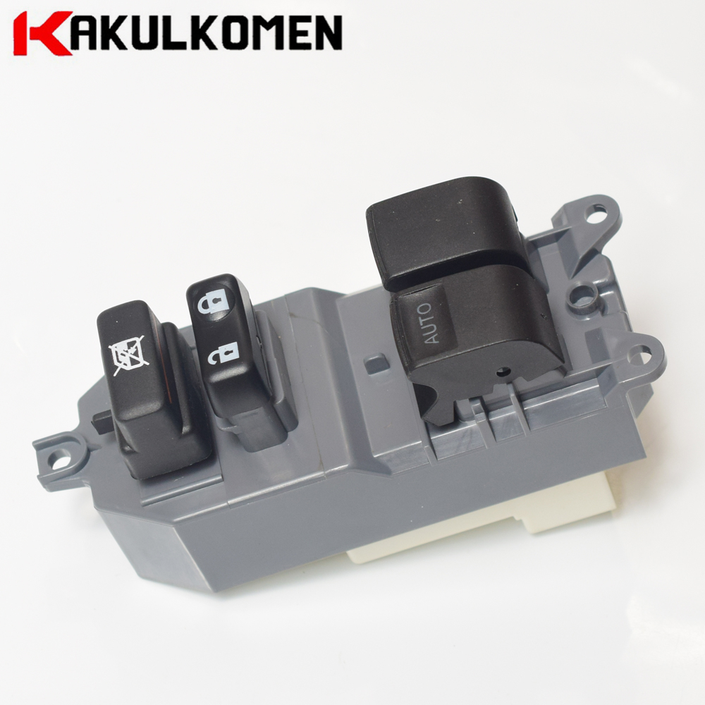 84820-02230 8482002230 Power Window Master Controller Switch Button Panel For <font><b>Toyota</b></font> <font><b>Auris</b></font> (Hybrid) 2007-2013 Yaris 2005-2011 image
