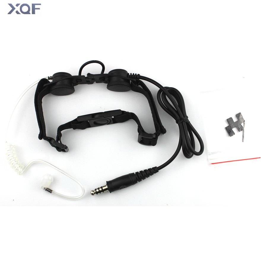 Element Z-Tac Walkie-talkie Headset Throat Mic Vacuum Sound Transmission CS HeadsetElement Z-Tac Walkie-talkie Headset Throat Mic Vacuum Sound Transmission CS Headset