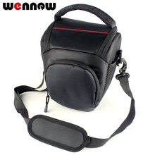 Wennew borsa per fotocamera con pacchetto triangolare per Canon EOS 4000D 2000D 1300D 1200D 1000D 800D 760D 750D 700D 650D 600D 550D 500D 200D