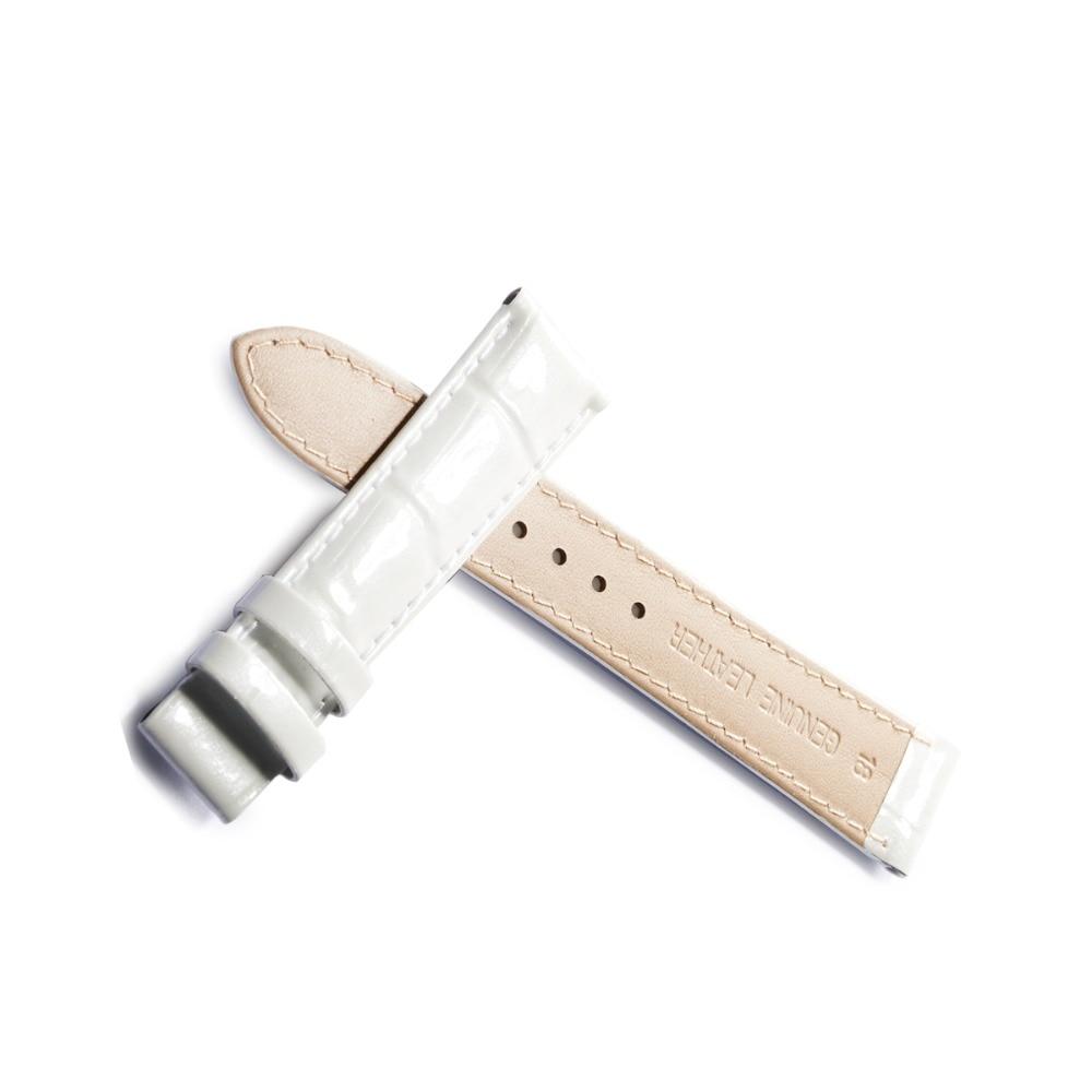 Récif Tiger/RT noir/bleu/blanc/rouge bracelet en cuir Durable bracelet en cuir véritable bracelet de montre avec boucle de déploiement RGA1550 - 2
